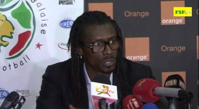 """Aliou Cissé félicite les """"Lionceaux"""" et l'équipe locale"""