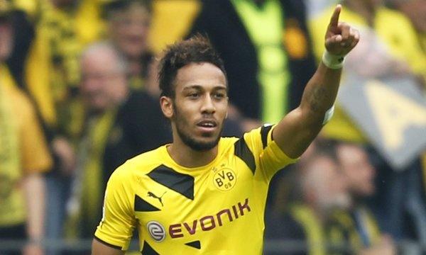 Dortmund: Trois clubs anglais sur Aubameyang