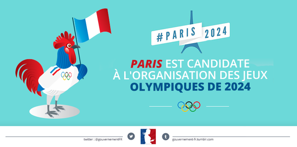 JO 2024 : Paris a officiellement lancé sa candidature
