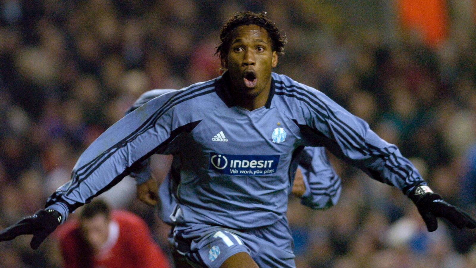 Didier Drogba tacle l'Olympique de Marseille