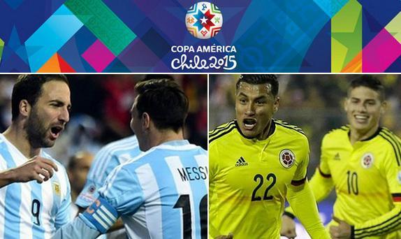 Copa America: Argentine-Colombie, le choc des étoiles en 1/4 de finale