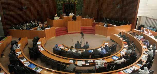 L'Assemblée nationale en plénière ce lundi sur la modification du règlement intérieur