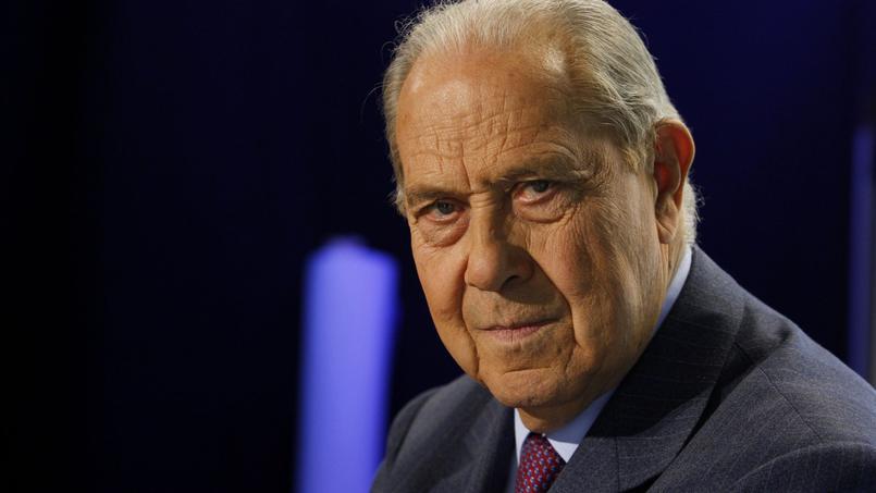 L'ancien ministre de l'Intérieur, Charles Pasqua est décédé