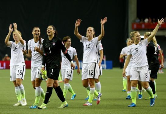 Mondial féminin: Les USA sortent l'Allemagne 2-0