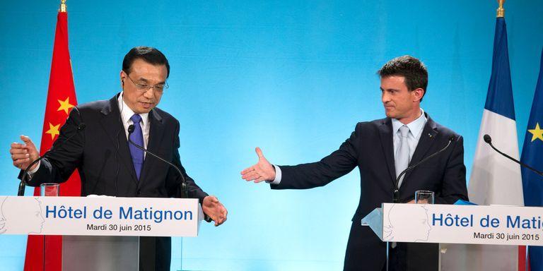 La Chine obtient l'aide de la France afin de poursuivre son expansion en Afrique