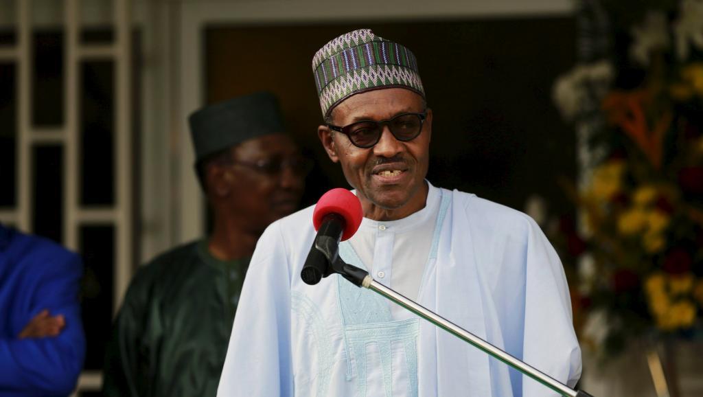 Le président nigérian Muhammadu Buhari, lors du sommet d'Abuja sur la lutte contre Boko Haram, le 11 juin 2015. REUTERS/Afolabi Sotunde