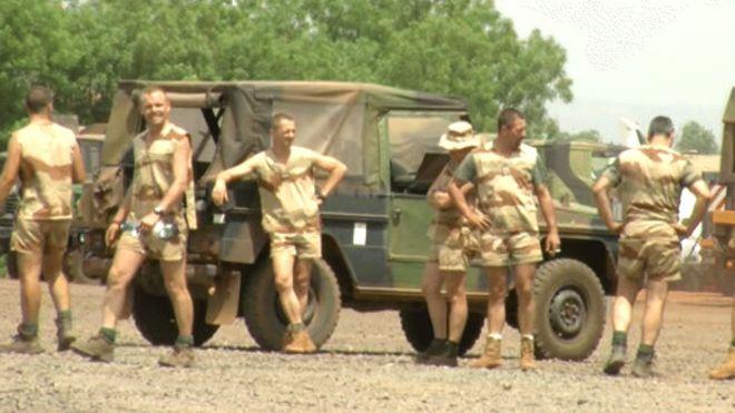 Des soldats français en Afrique