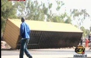 Keur Mbaye Fall: un conteneur se détache et tue deux femmes