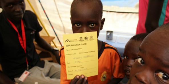 Soudan du Sud : 5 000 enfants de moins de cinq ans menacés de mort par le choléra