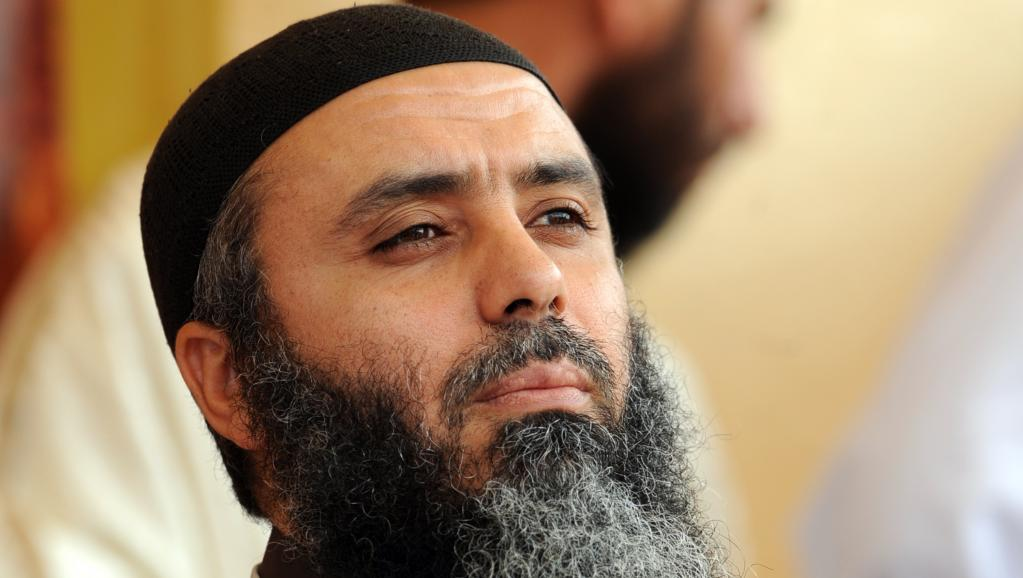Le chef jihadiste Abou Iyadh, en mai 2012 à Kairouan, en Tunisie. AFP PHOTO / FETHI BELAID