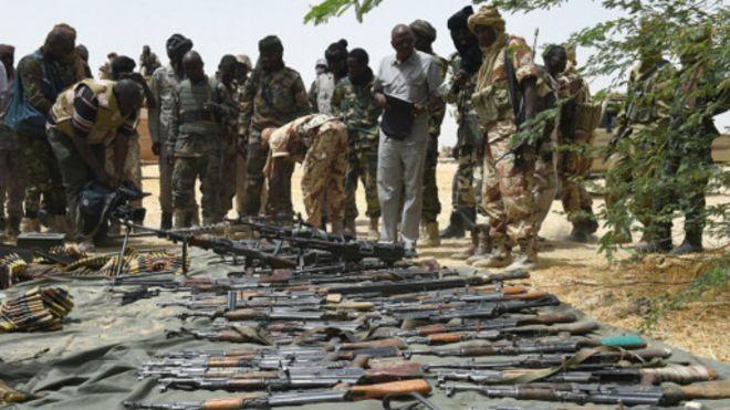 Tchad: découverte d'un stock d'armes