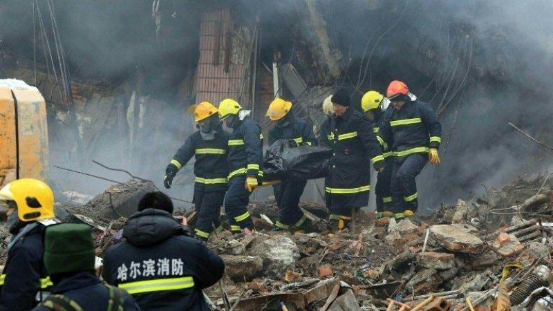 Chine: onze morts dans l'effondrement d'une usine