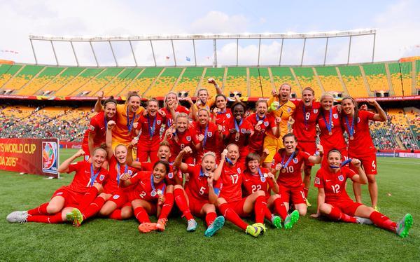 Mondial féminin: les Anglaises montent sur le podium
