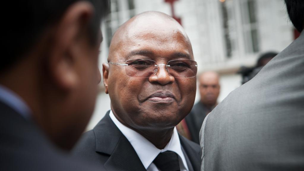 Jean Ravelonarivo, le Premier ministre malgache, a échapé de justesse à une motion de censure. AFP PHOTO / RIJASOLO