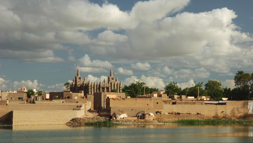 Koufa est le nom de son village situé dans la région de Mopti, dans le centre du Mali. Photo : Mopti. Getty Images/Friedrich Schmidt