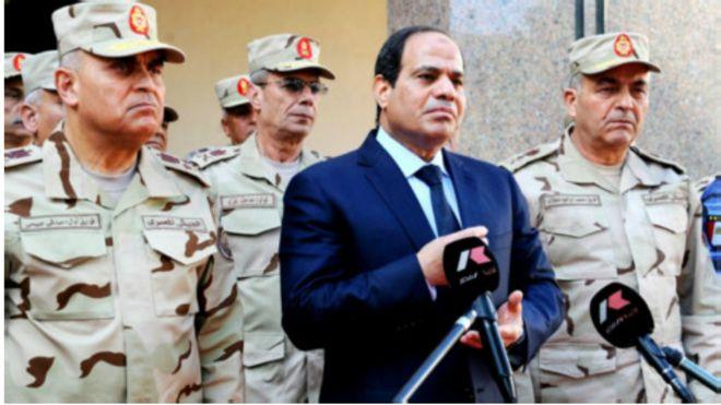 Le président al-Sissi pourrait promulguer la nouvelle loi antiterroriste dans les prochains jours.