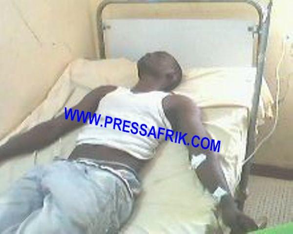 PHOTOS UCAD: cinq blessés gisent au service médical