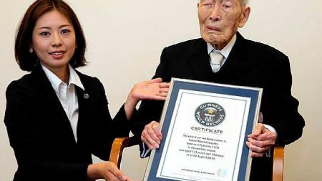 Japon : Le doyen de l'humanité est décédé à 112 ans