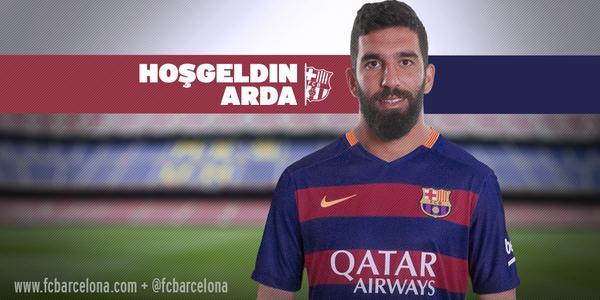 OFFICIEL : Arda Turan signe pour le FC Barcelone