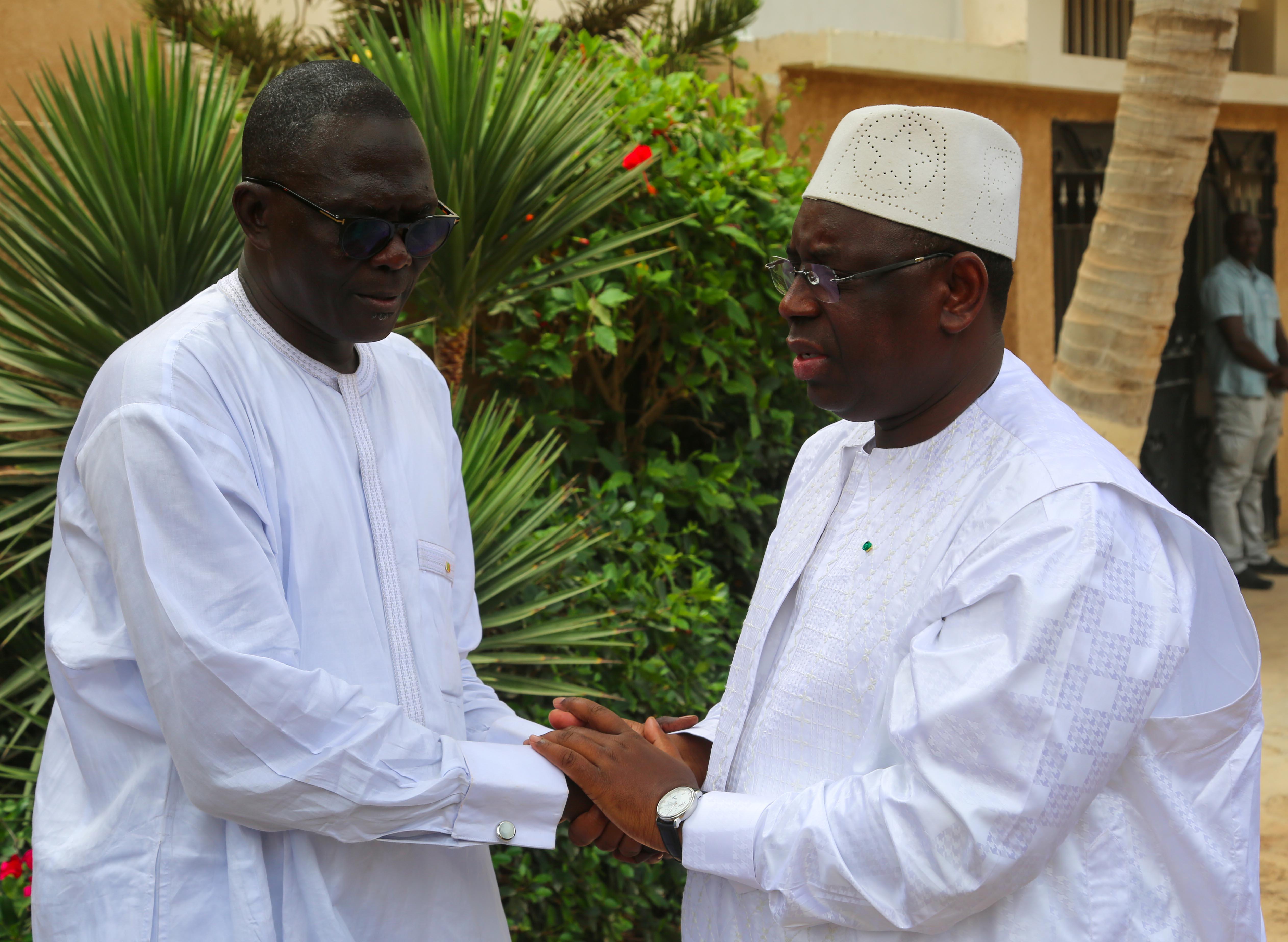 Macky Sall présente ses condoléances à son ami Moustapha Diakhaté