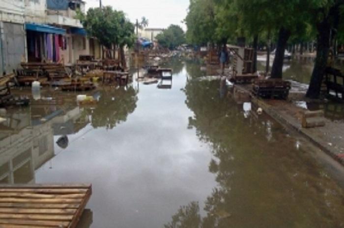Kaffrine : Premières pluies, premières inondations.