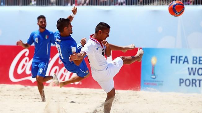 Mondial Beach soccer : l'Italie marque les esprits d'entrée