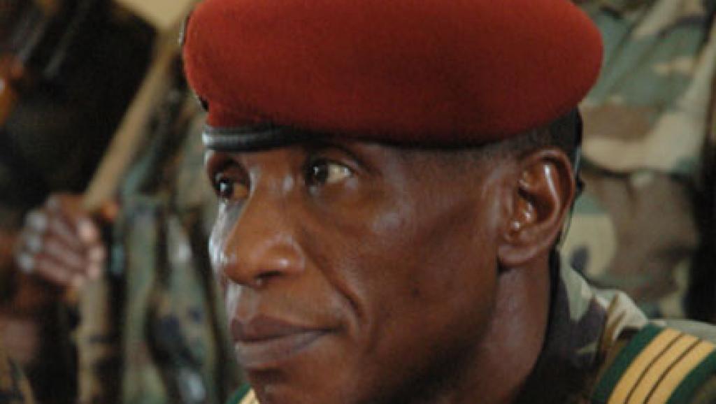 Moussa Dadis Camara, ancien chef de la junte, est mis en examen dans le cadre de l'enquête sur le massacre du 28 septembre 2009 en Guinée. (Photo : L. Correau / RFI)