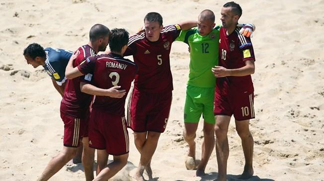 Mondial beach soccer : La Russie joue à se faire peur devant le Paraguay (7-5)