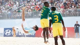 """Mondial Beach soccer: Face au Portugal, les """"Lions"""" n'ont pas droit à l'erreur"""