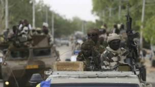 Le quartier du marché central a été bouclé par les forces de sécurité tchadiennes.
