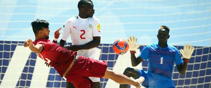 Mondial Beach soccer : Le Sénégal s'impose devant le Portugal 6-5