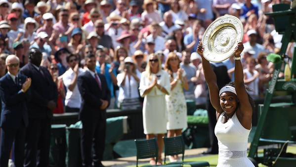 Wimbledon: sixième trophée pour Serena Williams
