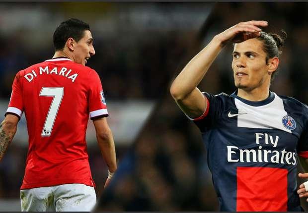 Manchester United, Van Gaal exige Cavani