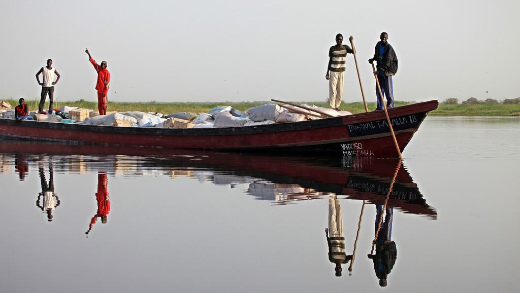 Le commerce du poisson du lac Tchad est interdit parce qu'il financerait Boko Haram. The Asahi Shimbun via Getty Images