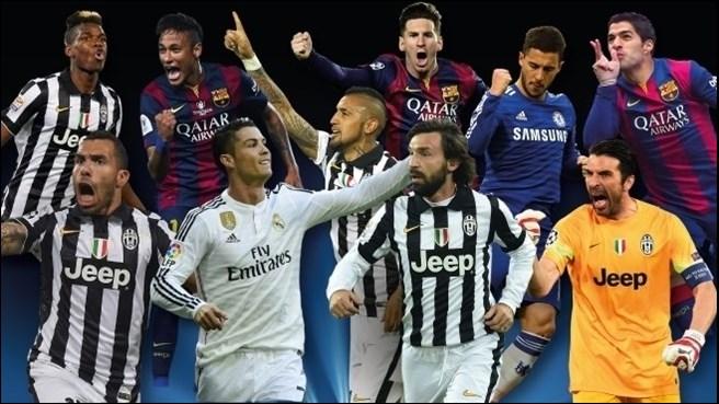 Meilleur joueur d'Europe 2014-2015: le top 10 dévoilé