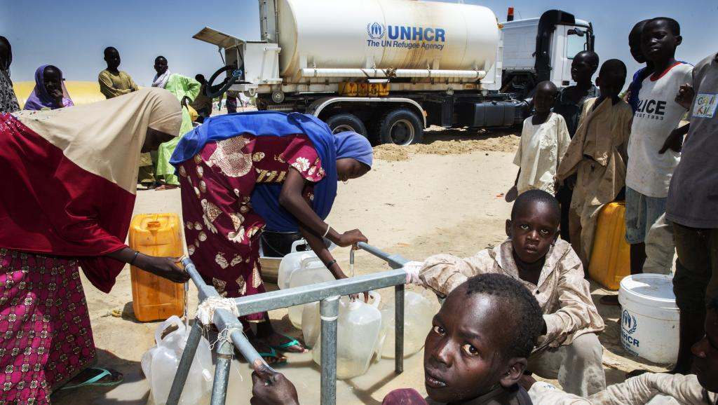 Le camp de Kabelawa, à 2 heures de Diffa vers le nord-est, accueille 2 500 déplacés nigériens évacués des îles du lac Tchad. Pierre Pinto/RFI