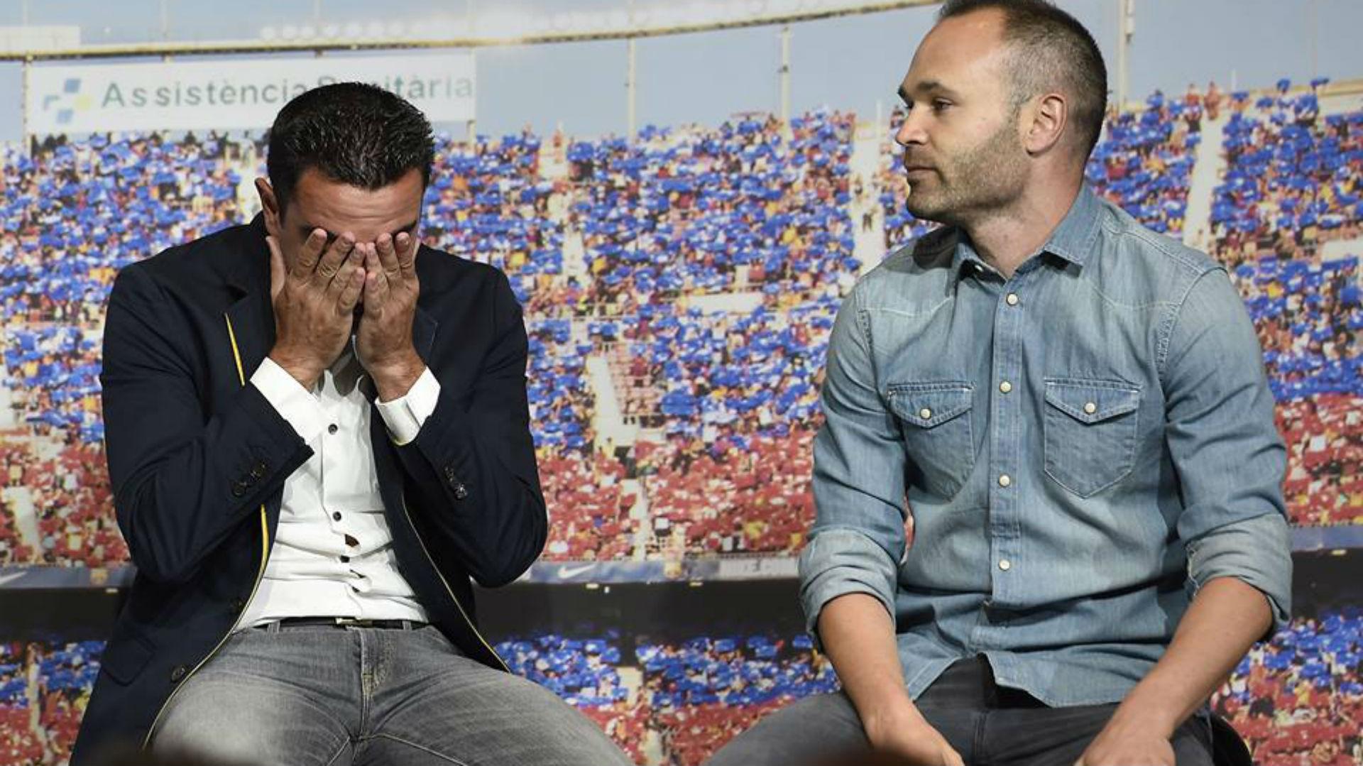 """Iniesta : """"Tout est différent sans Xavi"""""""