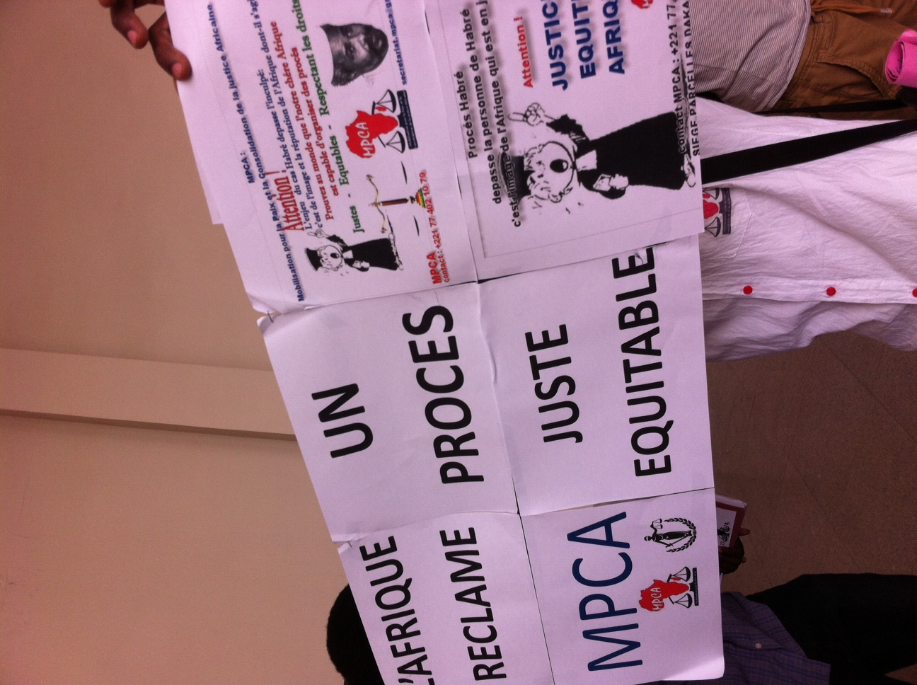 Refus de comparaître, attaques contre les CAE : Hissein Habré donne le ton de son procès