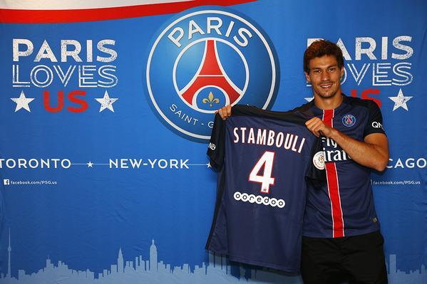 Officiel : Stambouli s'engage jusqu'en 2020 avec le PSG