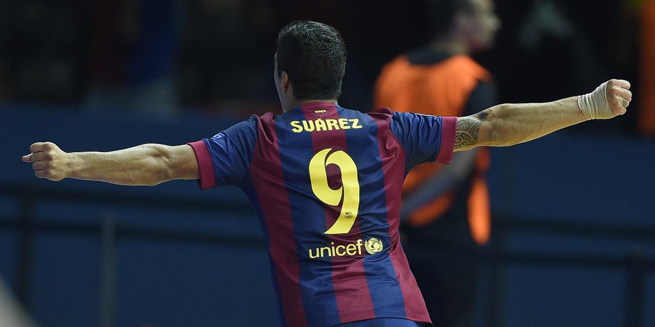 """Barça : Suarez veut """"tout gagner"""" cette saison"""