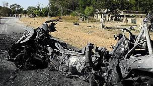 Une attaque de Boko Haram au Cameroun.