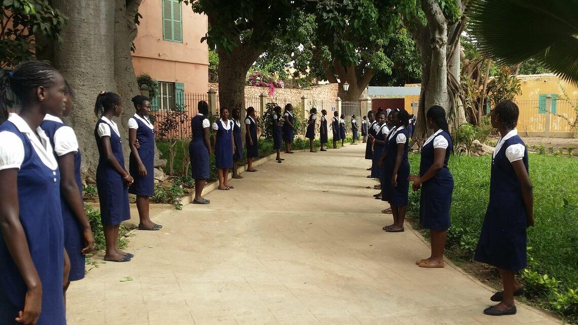 BAC 2015 : 100% de réussite pour la Maison d'Education Mariama Bâ de Gorée