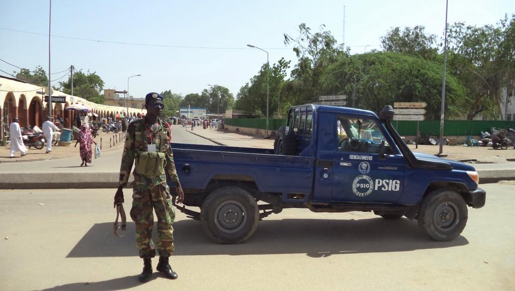 L'état-major de la force mixte multinationale est basé à Ndjamena, au Tchad. REUTERS/Moumine Ngarmbassa