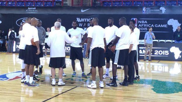 Basket: la NBA prend ses aises en Afrique