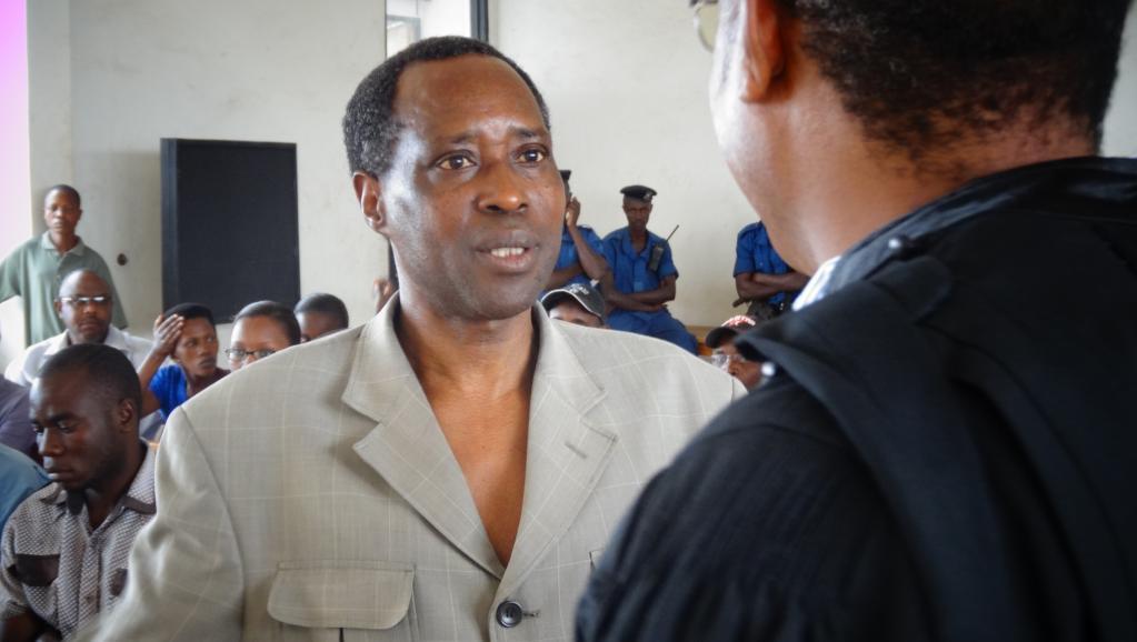 Léonce Ngendakumana, président de la coalition d'opposition burundaise ADC-Ikibiri, le 1er septembre 2014. Esdras Ndikumana / RFI