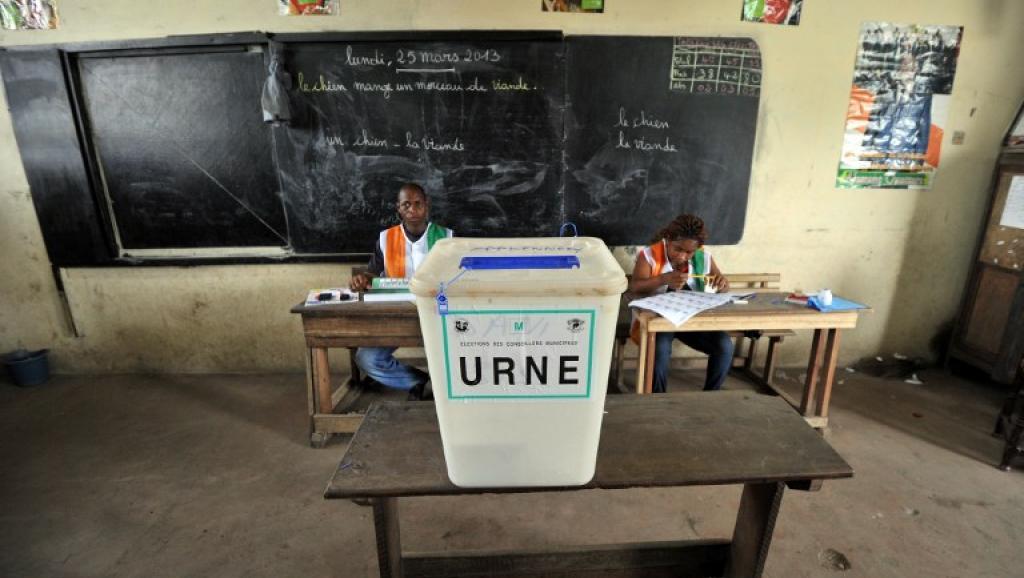 La présidentielle ivoirienne doit se tenir en octobre prochain. AFP PHOTO / ISSOUF SANOGO
