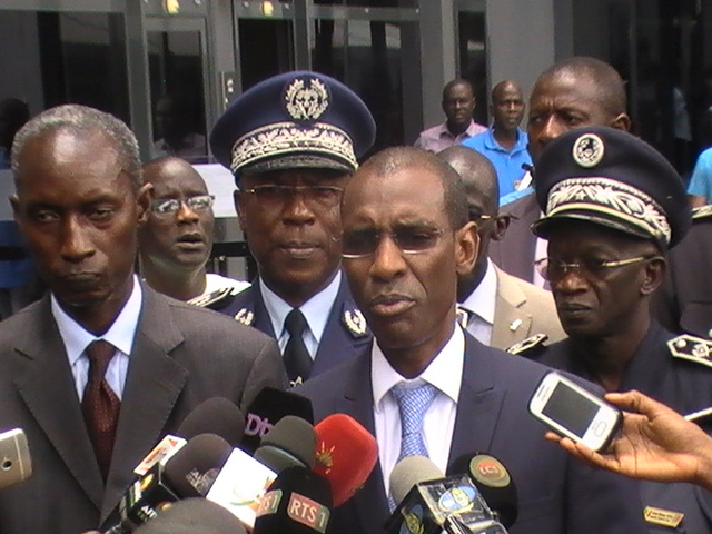«L'unité de coordination de riposte terroriste , a bien fonctionné », Abdoulaye Daouda Diallo