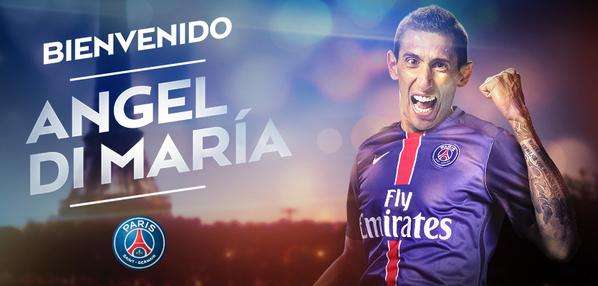 OFFICIEL - Angel Di Maria rejoint le PSG