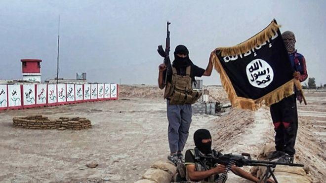 Les militants de l'Etat islamique