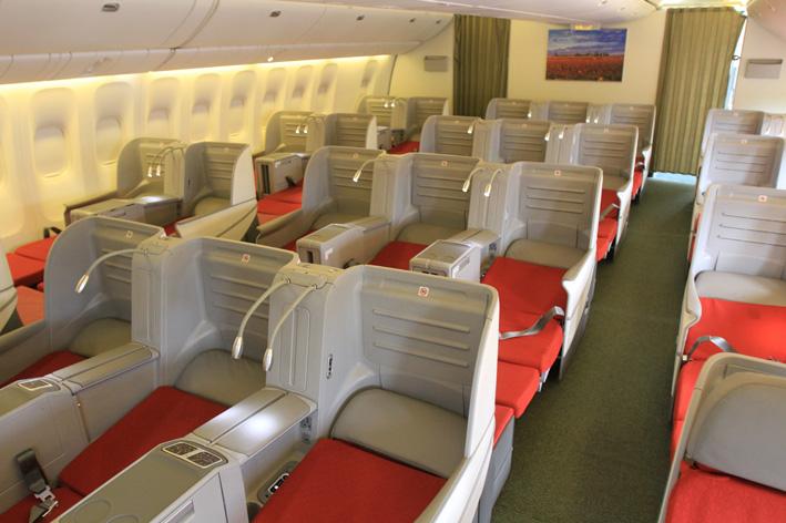 Ethiopian Airlines : des avions passagers de type Boeing 777 modernisent sa classe Affaires
